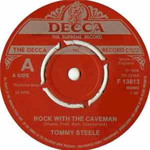 Tommy Steele - Rock With The Caveman Album