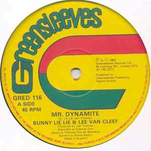 Bunny Lie Lie & Lee Van Cleef / Roots Radics - Mr. Dynamite / Dynamite Dub Album