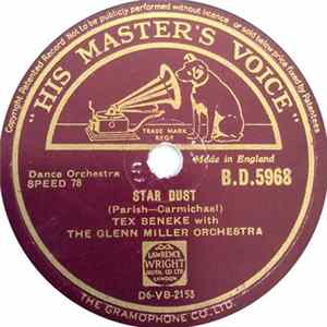 Tex Beneke With The Glenn Miller Orchestra - Star Dust / Falling Leaves Album
