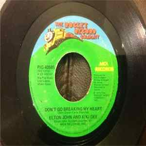 Elton John And Kiki Dee - Don't Go Breaking My Heart Album