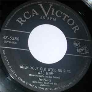 Jan Peerce With Henri René And His Orchestra - When Your Old Wedding Ring Was New / If You Love Me Album